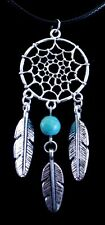 Pendant Cord Necklace Dream Catcher Indian Web Dreamcatcher Feathers Star Wicca
