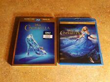 Cinderella (Blu-ray, 2015) HAS RARE BEST BUY LENTICULAR SLIPCOVER DISNEY LIKENEW