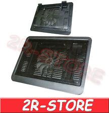 SUPPORTO PC NOTEBOOK 1 VENTOLA RAFFREDDAMENTO DISSIPATORE BASE RAFFREDDA USB LED