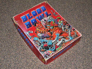 BLOOD BOWL : GAME OF FANTASY AMERICAN FOOTBALL  RARE VINTAGE 1986 GAMES WORKSHOP