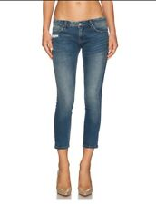 BlankNYC Skinny Crop Jeans in Jeepin Distressed 25