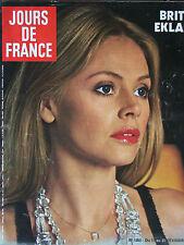 Jours de France N°1053 (17-23 fév 1975) Britt Ekland - Claude Zidi - J.P Soisson