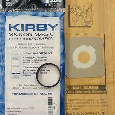 3 Kirby Vacuum Bag 1 Belt197294 4 Ultimate G Diamond G6 G5 G4 G3 Heritage 197394