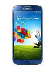 Blaue Handys ohne Vertrag mit Android-Betriebssystem und WLAN Verbindung