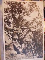 CARTOLINA WW1 LA BATTAGLIA DEL PIAVE STRAGE AUSTRIACI A CANDELU' 1918