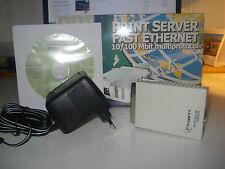 PRS431 Ethernet Print Server con porta parallela.