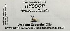 Hyssop essential oil 10ml bottle
