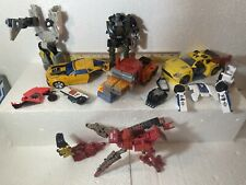 Transformers Lot Mixed Used For Parts