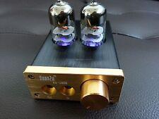 Stereo 6J9 Valve Tube Headphone Amplifier Audio HiFi Röhren Kopfhörerverstärker