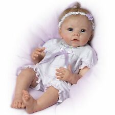 Ashton Drake Chloe's Look of Love Lifelike Interactive baby doll by Linda Murray
