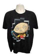 Family Guy Miner Stewie Griffin Adult Black XL TShirt