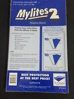 50 E. Gerber Mylites 2 Mil Mylar Standard - Bronze Age Comic Book Sleeves 725M2