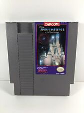 Disney Adventures In Magic Kingdom -- NES Nintendo Game CLEAN TESTED GUARANTEED