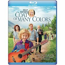 COAT OF MANY COLORS (Dolly Parton) BLU RAY Sealed Region free for UK