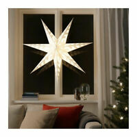 Wedding Table Centre Piece Star Pendant Light Shade, Snowflake White 100cm
