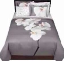Dwell Studio for Target 1 Pc Orchid Gray Duvet Cover Twin Floral NO Sham