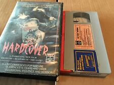 Hardcover Rare VHS PAL Cult Horror