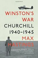 Winston's War: Churchill, 1940-1945 by Hastings, Max Book The Fast Free Shipping