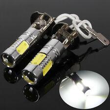 6000K High Power H3 LED COB Car Fog Day Head Light Lamp Bulb Headlight US