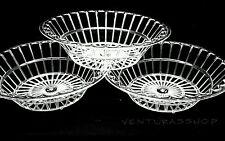24 Clear Stoneware Bread Basket Wedding Favors Sweet 16 First Communion Plastic