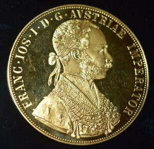 1915 AUSTRIAN 4 DUCAT GOLD COIN 0.4430 oz  PROOF