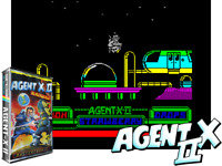 Sinclair ZX Spectrum 48K Game - AGENT X 2 - Mastertronic - Tested - Classic