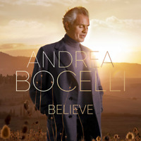 Andrea Bocelli • Believe CD 2020 Decca Records, Sugar Music •• NEW ••