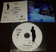 LARA FABIAN + DIVERS INTROUVABLE CD PROMO INTERNE 2 TITRES IF LE COLLECTIF AIDES