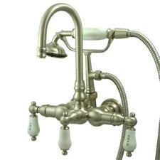 New Clawfoot Tub Faucet Satin Nickel  CC9T8