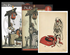 BD Sketch Book Art Book HUB Okko 700 exemplaires + ex-libris signé
