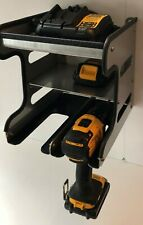 Tool Storage Unit for Cordless Drill, Impact Driver, Batteries and Charger