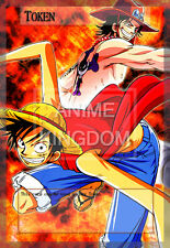 YUGIOH Sexy Anime Orica Token Sexy  Anime One Piece  Luffy & Ace # 569