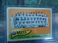 1965 TOPPS TEAM CARD NEW YORK METS