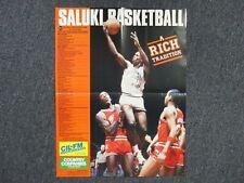 "1987-88 Southern Illinois Saluki Men's Basketball 16"" x 22"" Wall Poster/Schedule"