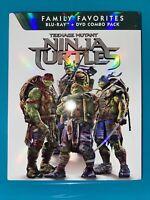 Teenage Mutant Ninja Turtles (Blu-ray + DVD, 2014, 2-Disc Set w/ Slipcover) TMNT