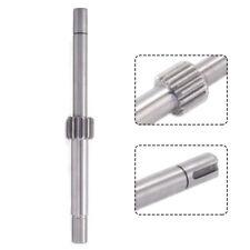 B166 Gear Shaft Steel Cnc Milling Head Parts Feed Input Shaft High Quality Usa