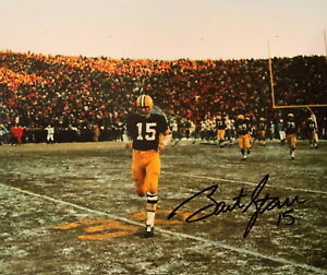 Bart Starr Autographed Signed 8x10 Photo NFL HOF Green Bay Packers REPRINT
