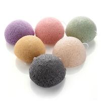5 Color Natural Konjac Cosmetic Sponge Puff Facial  Care Face Powder Makeup Tool