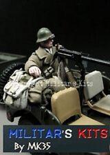 1/43 Figurine MK35 M43-015 Militaire français 2ème DB + barda