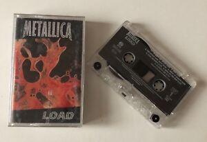ORIGINAL CASSETTE EDITION MC K7 METALLICA LOAD 1996 VERTIGO NETHERLANDS