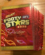 2020 SELECT PRESTIGE Footy Stars NUMBERED RED PARALLEL CARDS **take your pick**