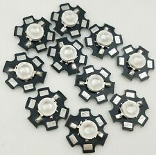 10x3w 365nm Uv Led Ultraviolet Led Chip Light High Power Bead Bead With 20mm Pcb
