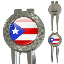 Puertorico Flag 3-in-1 Golf Divot Tool