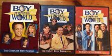 Boy Meets World Seasons 1, 2, & 3 (DVD sets)