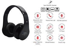 Sport Gym Outdoor Bluetooth Wireless 3D Hifi Bass Music Stereo Headset Earphone