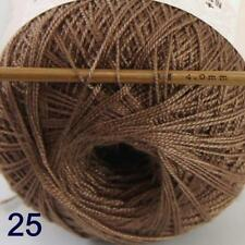 Thread No.8 Cotton Crochet Hand Yarn Craft Tatting Knit Wholesale 50g/400y 25