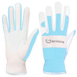 WFX Gardening Gloves Ladies Mens Leather Thorn Proof Garden gloves Best Gift