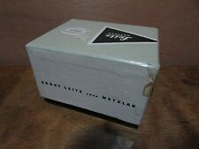 LEICA BOX ERNST LEITZ WETZLAR  MADE IN GERMANY  16486A  LVF00