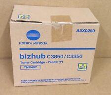 TNP48Y - Konica Minolta Bizhup C3850 / C3350 Yellow Toner Cartridge