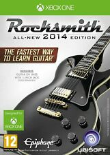Rocksmith 2014 Edition with Real Tone Cable XBOX One 1 Original UK Release Mint